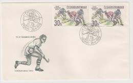 Czechoslovakia, 1978, Field Hokey Championship, FDC, Praha, 26-4-78 - Hockey (su Erba)