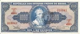 BRESIL 1000 CRUZEIROS ND1966-67 UNC P 187 B - Brazil