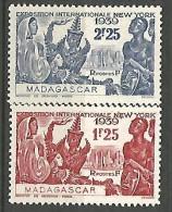 MADAGASCAR N� 207 / 208  NEUF*  CHARNIERE / MH