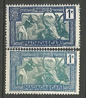 MADAGASCAR N� 161A   NEUF(*) SANS GOMME