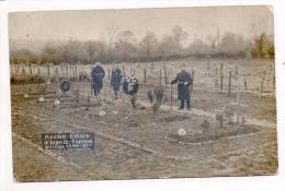 31071  -  Rabosée  Barchon  Massen  Gräber -   Cimetière -  Soldat Allemand -   Carte Photo - Belgio
