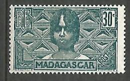 MADAGASCAR N� 169  NEUF* TRACE DE  CHARNIERE  / MH