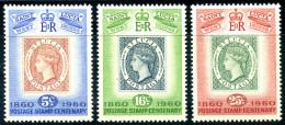 ST. LUCIA 1960 - Complete Set Michel# 165-167 - **MNH** - St.Lucia (1979-...)
