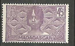 MADAGASCAR N� 172  NEUF*  CHARNIERE  / MH