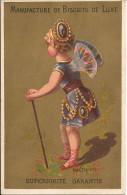 CHROMO /  USINE  DU  MOULIN  D ' ARS  /  BÈGLES - BORDEAUX  /   MANUFACTURE  BISCUITS  /   AMÉTHISTE /  Femme  Papillon - Confectionery & Biscuits