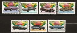 Madagascar 1992 n� 1137 / 43 ** Automobile, Voiture, BMW, Toyota, Cadillac, Volvo, Mercedes-Benz, Ford, Honda, Sierra