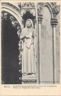 METZ - 57 - La Statue Du Prophète Daniel Au Portail - Statue  - ENCH** - - Metz