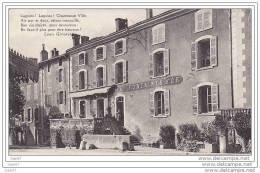 """Cpa    Réf  Z0.408  (  Dép  01 )    à   LAGNIEU     """"""""   L'  Hôtel Des Fontaines D'or - France"""