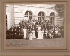 72 LE LUDE PHOTO DE MARIAGE  HOTEL DE VILLE   DIMENSIONS TOTALES  27 X 23   BON ETAT - Photos