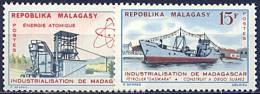 Madagascar, n� 372 � n� 375** Y et T