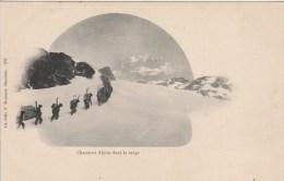 26k - 73 - Savoie - Chasseurs Alpins Dans La Neige - E. Reynaud N° 275 - France