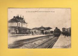 * CPA..dépt 89..SAINT FLORENTIN  :  La  Gare De Saint Florentin - Virgigny..Scan A   :  Voir Les 2 Scans - Saint Florentin