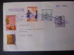 Coree Du Sud Lettre De Pusan 1968 Pour Schwyz - Corea Del Sud