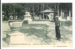 Exposition Coloniale 1907 - Entrée Du Village Indo-Chinois - Exposiciones