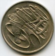 Australie Australia 20 Cents 1974 KM 66 - Monnaie Décimale (1966-...)