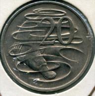 Australie Australia 20 Cents 1975 KM 66 - Monnaie Décimale (1966-...)