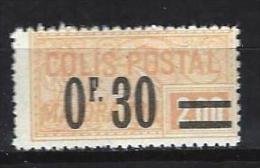 """FR Colis Postaux YT 35 """" Majoration 30c.s. 2F Jaune """" 1926 Neuf* - Paketmarken"""