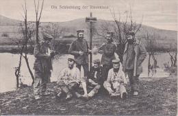 AK Die Schlachtung Der Riesenlaus - Patriotika- Humor - 1917 (16026) - Humor