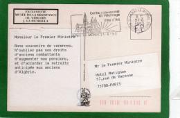 ,Courrier Envoyé Au Premier Ministre A L'Hôtel Matignon Multivues Année 1993, MUSEE DE LA RESISTANCE - Storia Postale