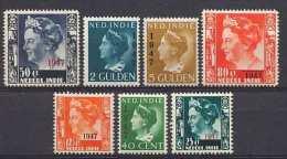 Nederlands Indie NVPH Nr 326/32 Ongebruikt (MLH, Neuf Avec Charniere) - Niederländisch-Indien