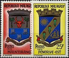 Madagascar, n� 496 � n� 497** Y et T
