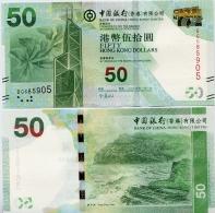 HONG KONG - BoC         50 Dollars        P-342d       1.1.2014       UNC - Hong Kong