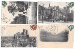 REIMS - Lot De 4 Cartes Postales - Reims