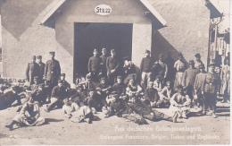 AK Aus deutschen Gefangenenlagern - Franzosen, Belgier, Turkos, Engl�nder - Militaria - 1. WK (16031)