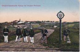 AK Deutsch-französische Grenze Bei Deutsch-Avricourt - Feldpost -K.S. Grenadier-Landw. Regmt. No. 100, 11. Komp. (16036) - Lothringen
