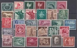 DR Lot 30 Sondermarken Aus 1933-1945 Postfrisch - Briefmarken