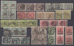 DR Lot Inflation Gestempelt Einheiten Ansehen !!!!!!!!!!! - Briefmarken