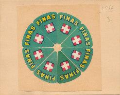 L 556 / ETIQUETTE DE  FROMAGE  - FINAS   PORTIONS   SUISSE - Käse