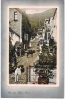 Carte Postale Ancienne De CLOVELLY HIGH STREET - Clovelly