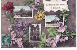 D' Amiens Je Vous Envoie Ce Souvenir - Multivues - Amiens