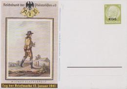 Elsaß Ganzsache Minr.P3 Postfrisch - Deutschland