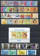 Antillas Holandesas 1985. Completo 34s + 1b ** MNH. - Antillen