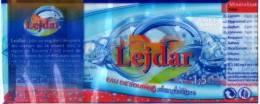 """Algerie-etiquette Eau Minerale """"LEJDAR"""" - Etiquettes"""