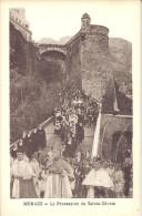 MONACO -=- MONTE CARLO -=- CPA -=-  La Procession De Sainte- Dévote - Monaco