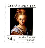 Czech Republic 2015 -  Painting From Prague Castle, 1 Stamp, MNH - Arte