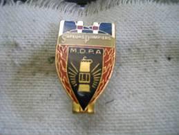 Pin´s Des Sapeurs Pompiers Des MDPA (Mines De Potasse D´Alsace). Grand Modele - Bomberos