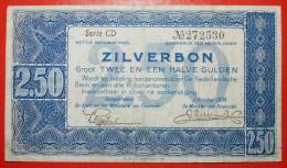 ★SILVER NOTE: NETHERLANDS★ 2 1/2 GULDEN 1938!  LOW START★NO RESERVE! - [2] 1815-…: Königreich Der Niederlande