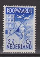 NVPH Nederland Netherlands Pays Bas Holanda 260 MLH Zeemanszegel Seamen Stamps Timbres De Marin Sellos De Marinero 1933 - Periodo 1891 – 1948 (Wilhelmina)