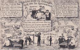 AK Hoch Lebe Der Reservemann! - Patriotika - Humor - 1908 (16048) - Humor