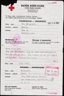 1943. DANSK RØDE KORS (Form. III-4-43.) FORESPØRGER - DEMANDEUR: Mølgaard, Tarm. ADRESS... (Michel: ) - JF175536 - Non Classés