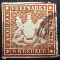 WURTEMBERG                 N° 34                OBLITERE - Wuerttemberg