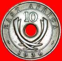 ★EDUARD VIII: EAST AFRICA ★ 10 CENTS 1936H! LOW START★NO RESERVE! - Colonie Britannique