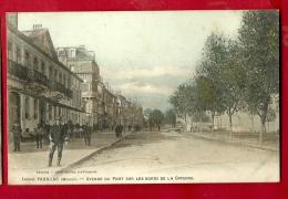 XBQ-16  Pauillac Avenue Du Port Sur Les Bords De La Gironde. Militaire. ANIME.  Cachet 1906 - Pauillac