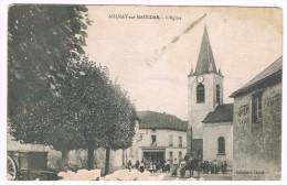 D78.AULNAY-SUR-MAULDRE. L'EGLISE. - Frankreich