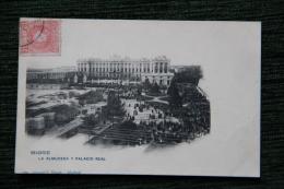 MADRID - La Almuneda Y Palacio Real - Madrid