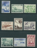 (B262) Greece 1947 Victory Issue Set MNH Lux - Nuovi